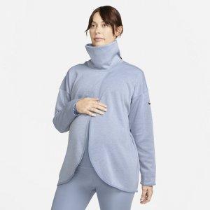Женская толстовка (M) (для мам) - Серый Nike