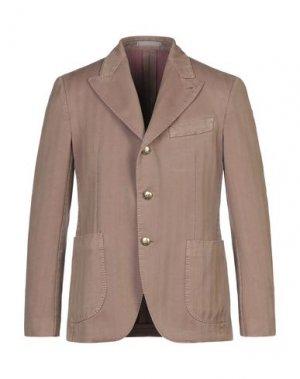 Пиджак GABRIELE PASINI. Цвет: коричневый