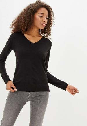 Пуловер Marks & Spencer. Цвет: черный