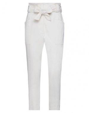 Повседневные брюки IRO. Цвет: слоновая кость