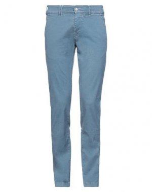 Повседневные брюки CYCLE. Цвет: грифельно-синий