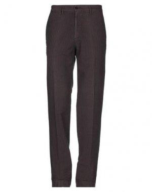 Повседневные брюки CARRERA. Цвет: темно-коричневый