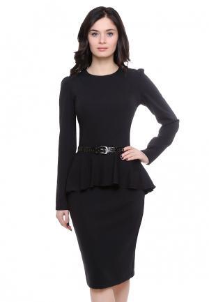 Платье Grey Cat BEYSY. Цвет: черный