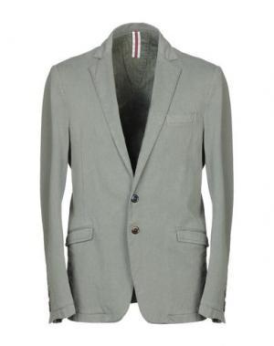 Пиджак BL.11 BLOCK ELEVEN. Цвет: зеленый-милитари