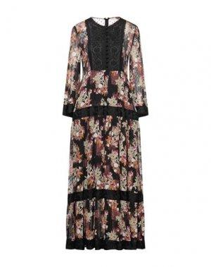 Длинное платье byTIMO. Цвет: черный