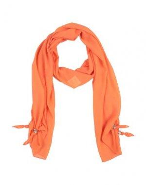 Палантин RELISH. Цвет: оранжевый