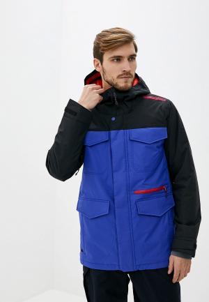 Куртка горнолыжная Burton M COVERT JK. Цвет: синий