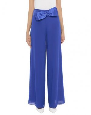 Повседневные брюки X'S MILANO. Цвет: ярко-синий
