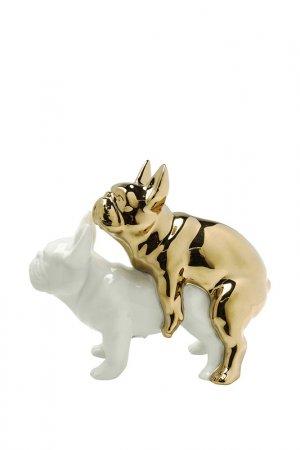 Статуэтка Love Dogs Kare. Цвет: белый, золотой