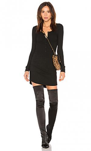 Платье David Lerner. Цвет: черный