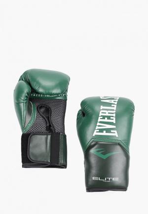Перчатки боксерские Everlast Elite ProStyle. Цвет: хаки