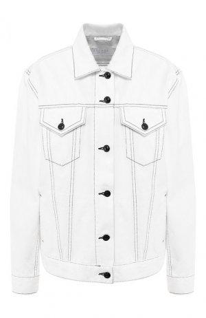 Джинсовая куртка Escada Sport. Цвет: белый