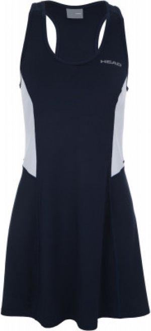 Платье женское Club, размер 42-44 Head. Цвет: синий