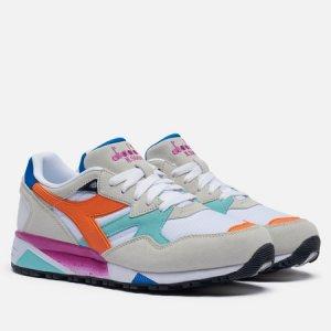 Мужские кроссовки N.9002 Diadora. Цвет: бежевый