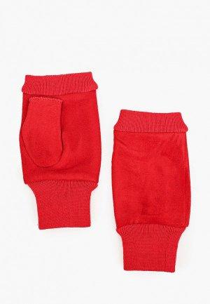 Митенки Pur. Цвет: красный