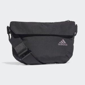 Сумка через плечо ID Performance adidas. Цвет: черный