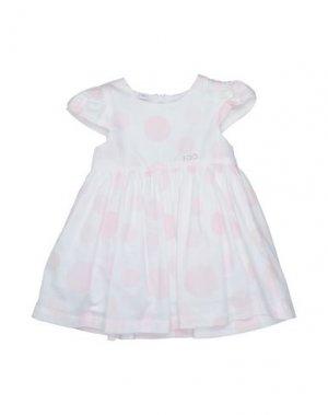 Платье iDO by MINICONF. Цвет: белый