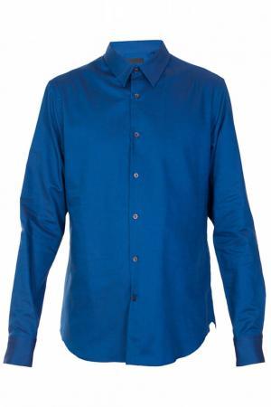 Рубашка Alexander McQueen. Цвет: синий