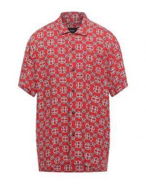 Pубашка HUF. Цвет: красный