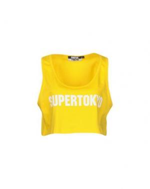 Майка STK SUPERTOKYO. Цвет: желтый