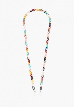 Цепочка для очков Hatparad OVI. Цвет: разноцветный