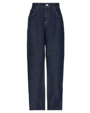 Джинсовые брюки BRAND UNIQUE. Цвет: синий