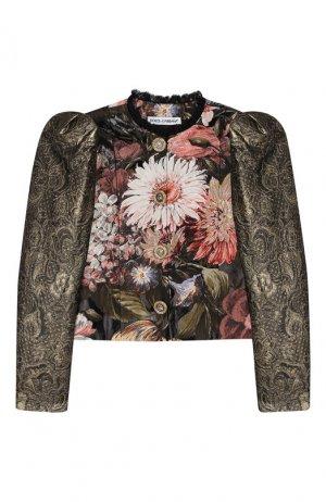 Жакет Dolce & Gabbana. Цвет: разноцветный