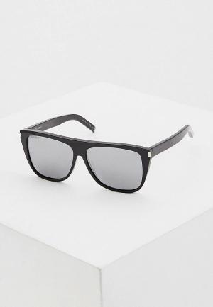 Очки солнцезащитные Saint Laurent SL 1 001. Цвет: черный