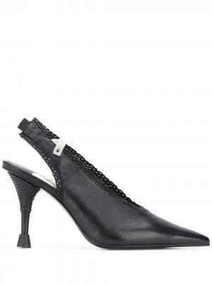 Сетчатые туфли с ремешком на пятке Premiata. Цвет: черный