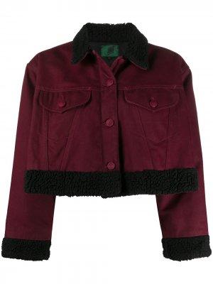 Укороченная куртка 1980-х годов Jean Paul Gaultier Pre-Owned. Цвет: красный
