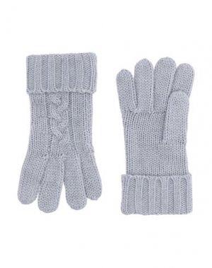 Перчатки MICHAEL KORS MENS. Цвет: серый