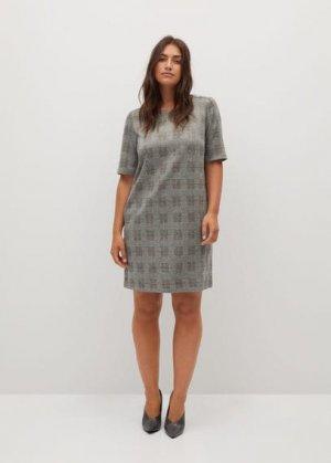 Короткое платье с принтом - Jack Mango. Цвет: серый