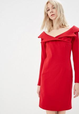 Платье Elle Land. Цвет: красный