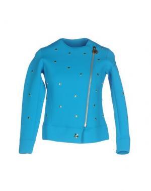 Куртка LA FILLE des FLEURS. Цвет: бирюзовый