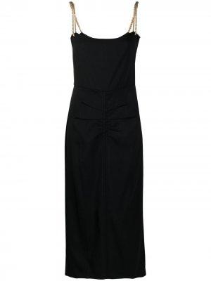 Платье с цепочками Nº21. Цвет: черный
