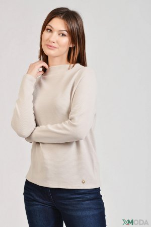 Пуловер Pezzo. Цвет: бежевый