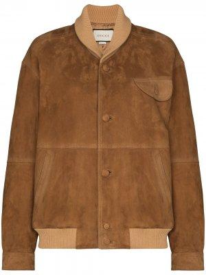 Куртка-бомбер Gucci. Цвет: коричневый