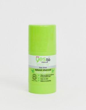 Натуральный дезодорант с углем и экстрактом чайного дерева Yes To Detox Charcoal-Бесцветный