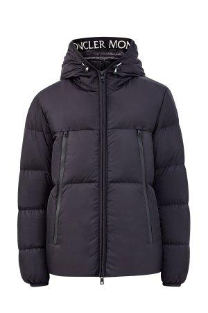 Утепленная куртка Montcla из нейлона Rainwear с макси-карманами MONCLER. Цвет: черный