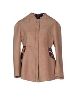 Куртка DAZE. Цвет: верблюжий