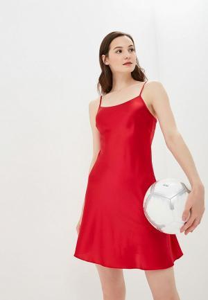 Комбинация Silk me. Цвет: красный