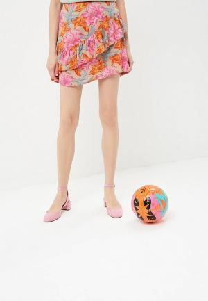 Юбка Glamorous. Цвет: разноцветный