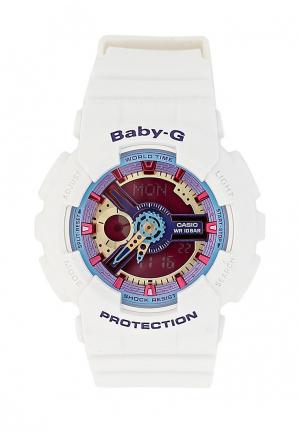 Часы Casio Baby-G BA-112-7A. Цвет: белый