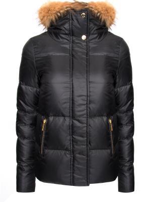 Утепленная куртка MICHAEL KORS. Цвет: черный