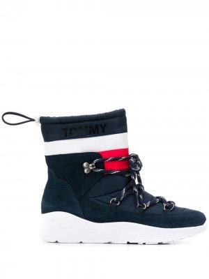 Ботинки со шнурком Tommy Jeans. Цвет: синий