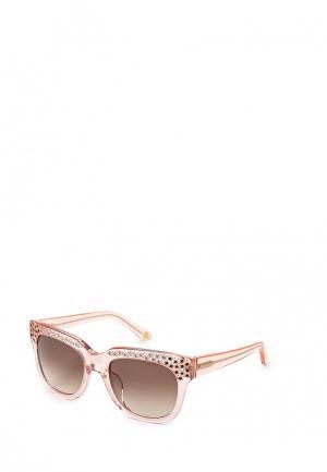 Очки солнцезащитные Juicy Couture JU 579/S SQV. Цвет: розовый
