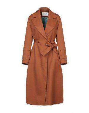 Пальто MAURO GRIFONI. Цвет: коричневый