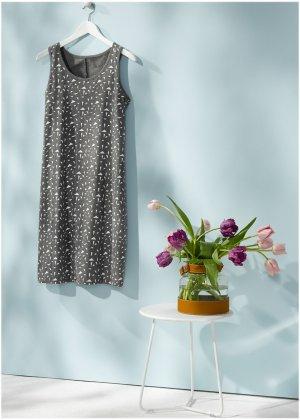 Ночная сорочка (2 шт.) bonprix. Цвет: серый