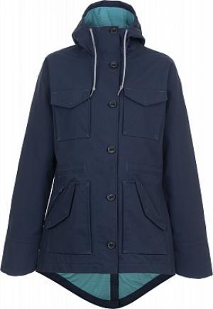 Ветровка женская Overlook, размер 46 Mountain Hardwear. Цвет: синий