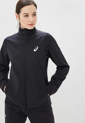 Куртка спортивная ASICS WARM RUNNING JACKET. Цвет: черный